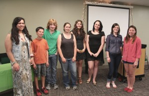 Here are the eight poets who took part.